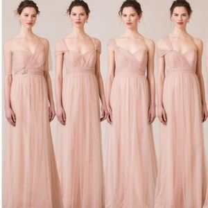 Anthropologie Jenny Yoo bridesmaid gown Anabelle